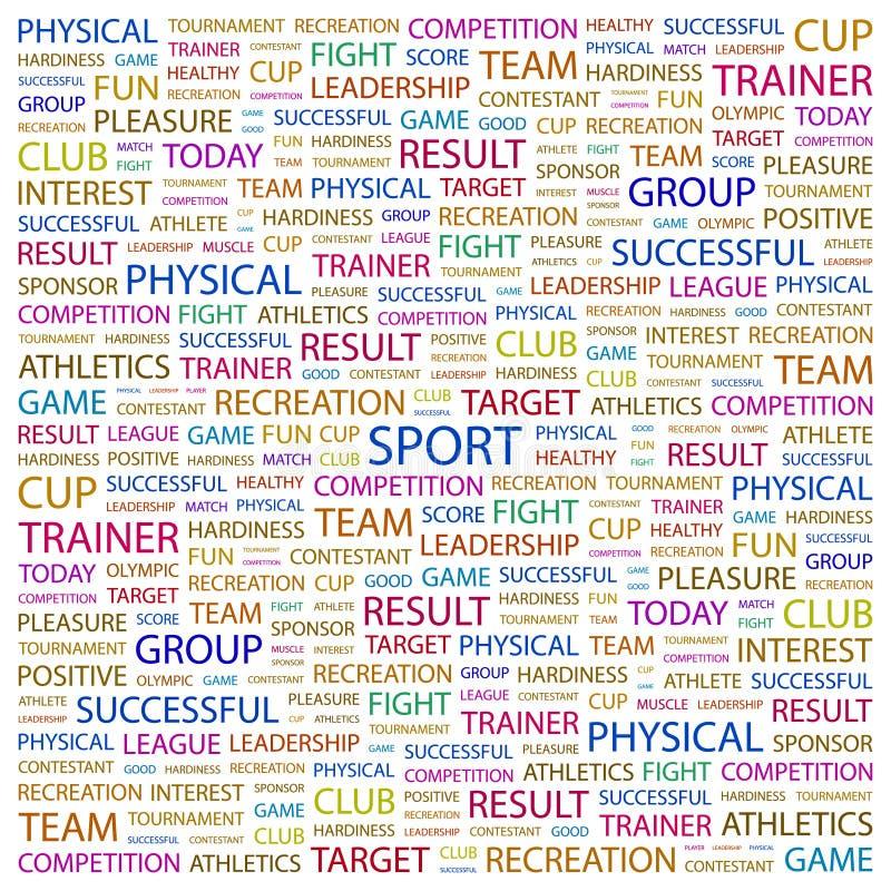 体育 向量例证
