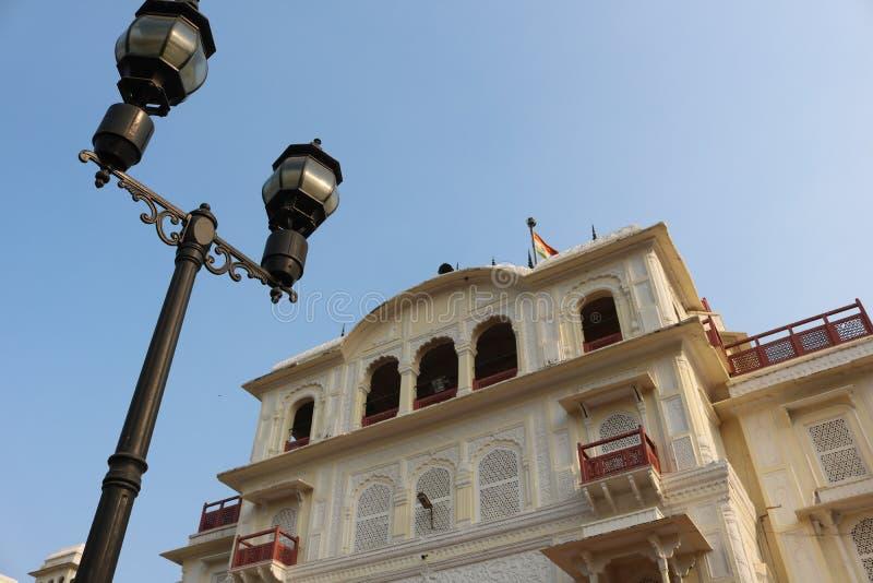 体育NIS伯蒂亚拉印地安人宫殿Netaji Subhas国立学院 库存照片