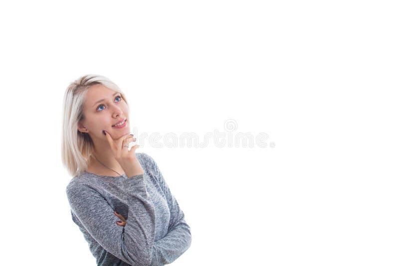 体贴的妇女 免版税库存图片