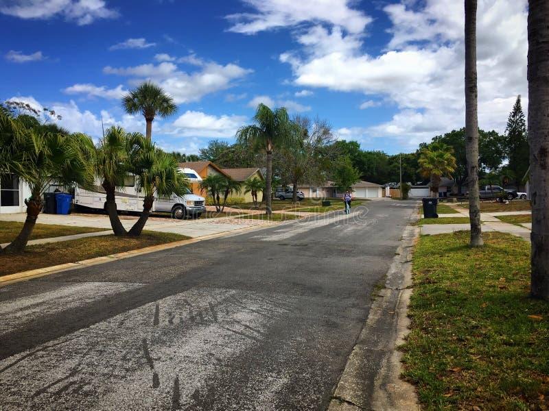 任何地方街道佛罗里达 免版税库存图片