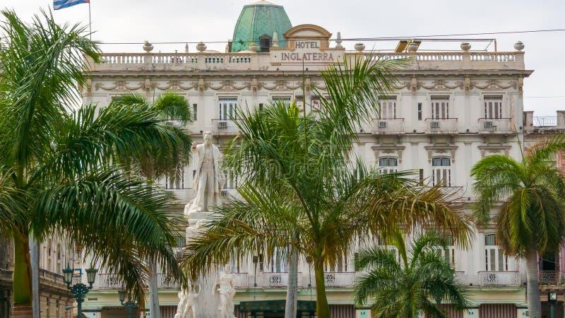 何塞马蒂雕象哈瓦那 库存图片
