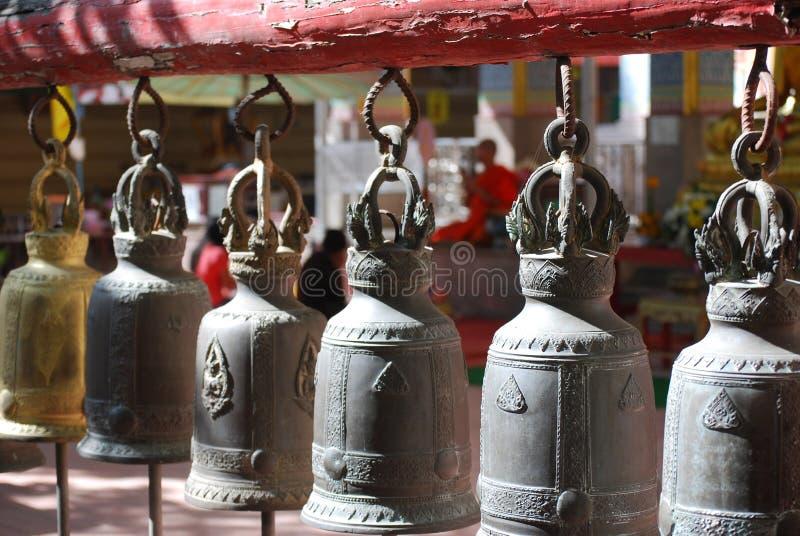 佛教响铃 免版税库存图片