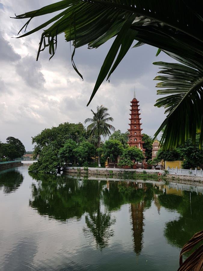 佛教塔 免版税库存照片