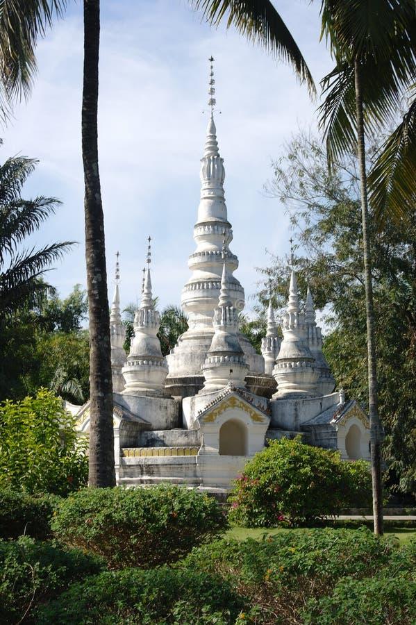 佛教寺庙在西双版纳 免版税库存图片