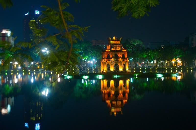 佛教寺庙在越南在越南的首都在河内 库存图片
