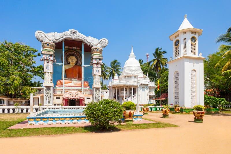 佛教寺庙在Negombo 免版税库存照片