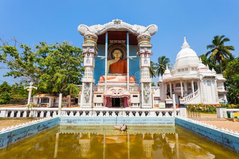 佛教寺庙在Negombo 库存照片