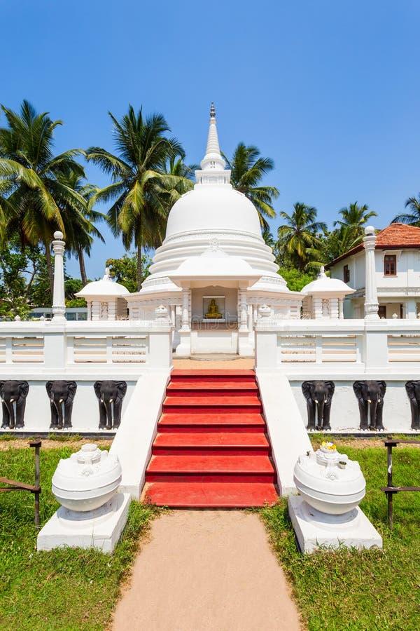佛教寺庙在Negombo 免版税图库摄影