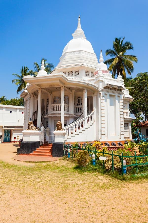 佛教寺庙在Negombo 免版税库存图片