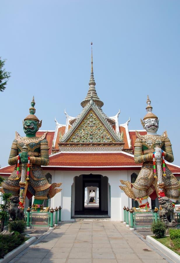佛教寺庙复杂郑王寺 免版税库存图片