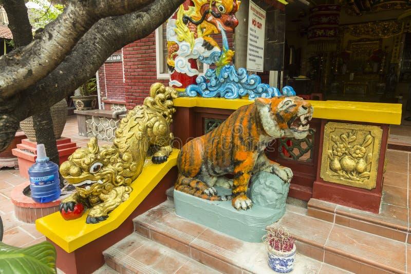 从佛教寺庙的细节 库存照片