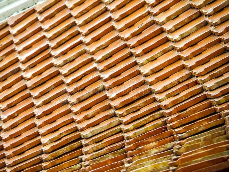 佛教寺庙& x28古老屋顶; Wat Thai& x29;室外 库存图片