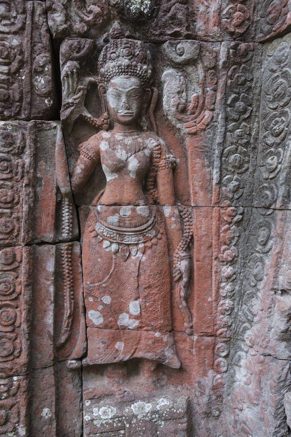 佛教废墟 库存照片