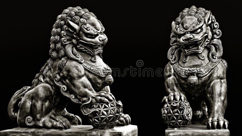 佛教石雕象 库存照片