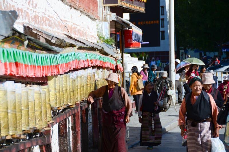 佛教祷告 免版税库存照片
