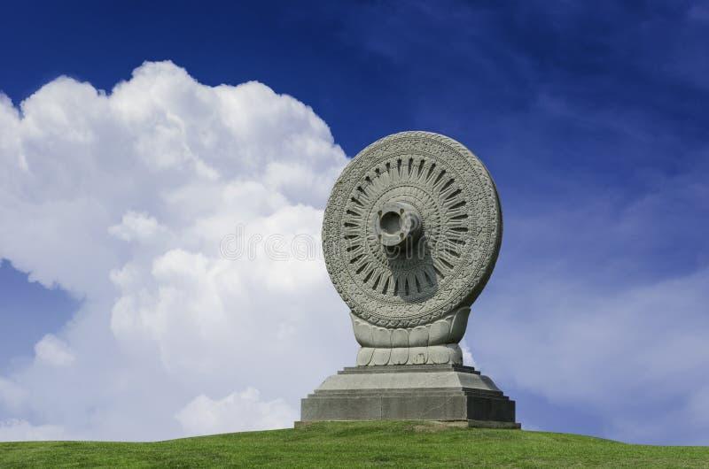 佛教第一讲道的布道 免版税图库摄影