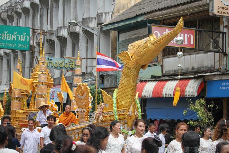 佛教节日 免版税图库摄影
