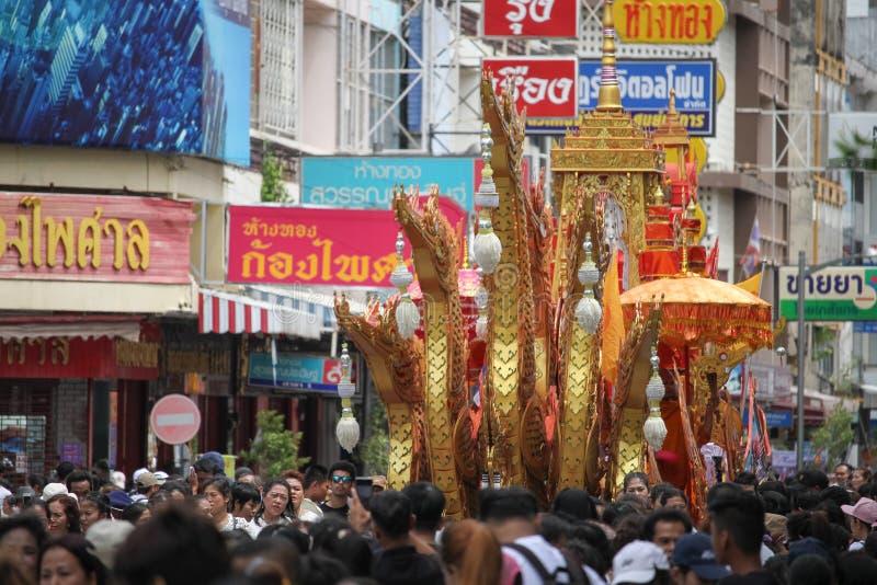 佛教节日 库存照片