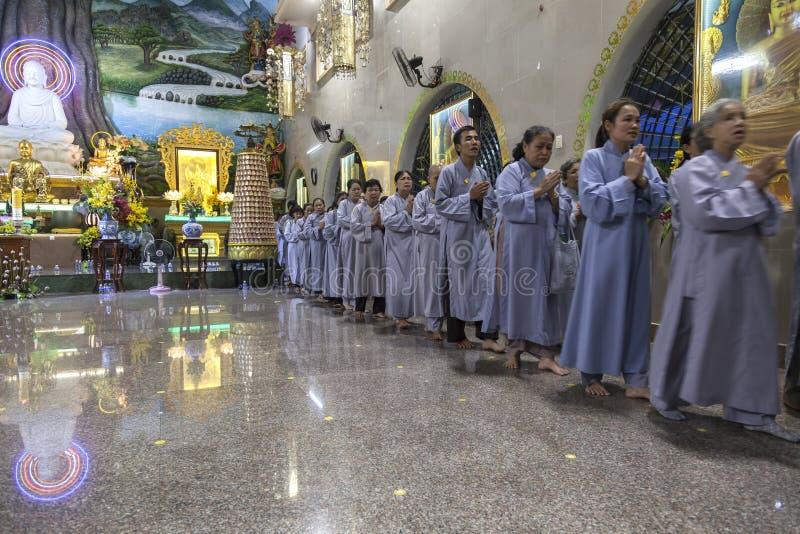 佛教葬礼 免版税图库摄影