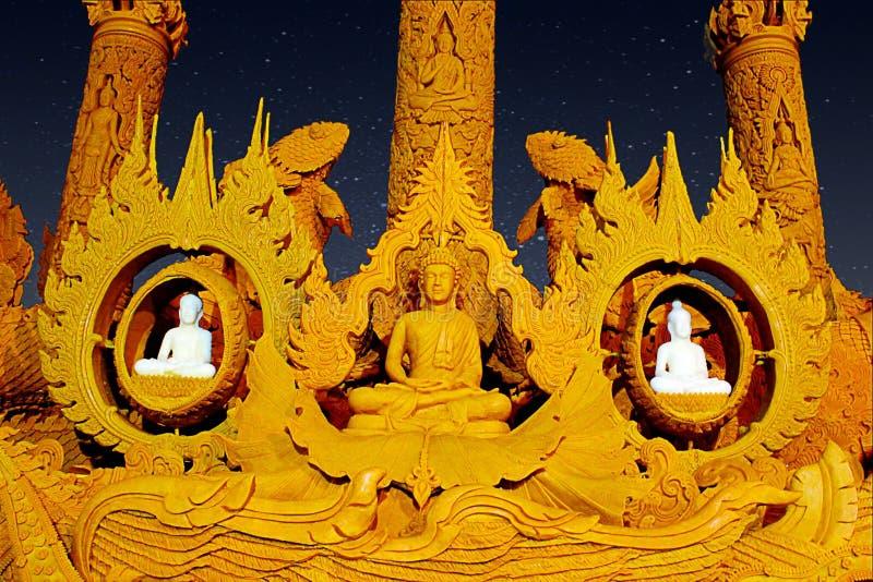 佛教被借的天 图库摄影