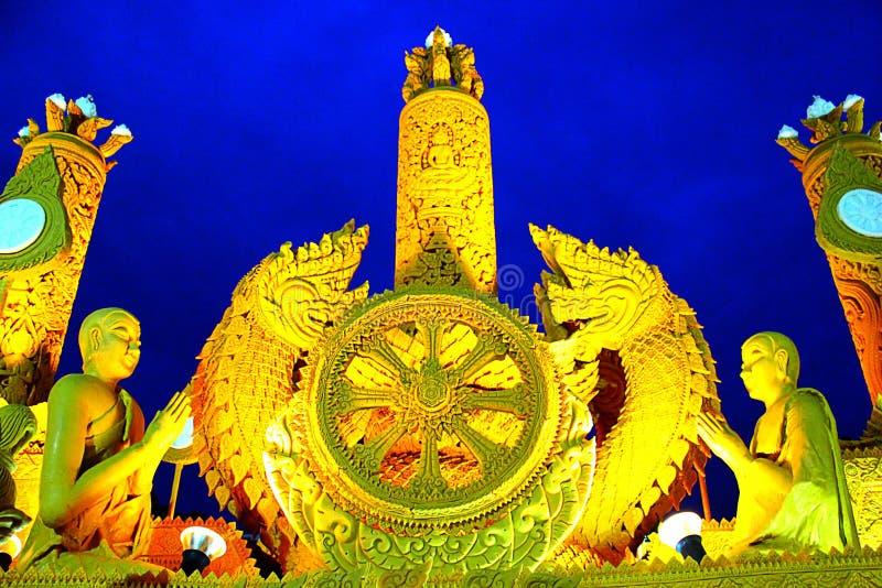佛教被借的天 免版税库存图片