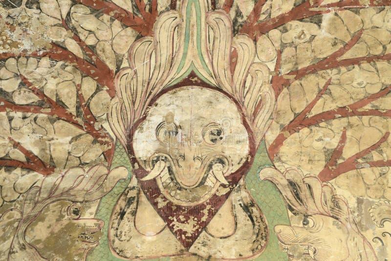 佛教绘画 免版税库存照片