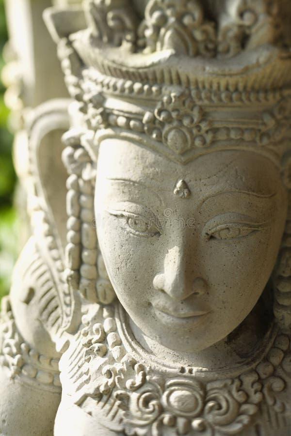 佛教kuan雕象yin 免版税库存照片