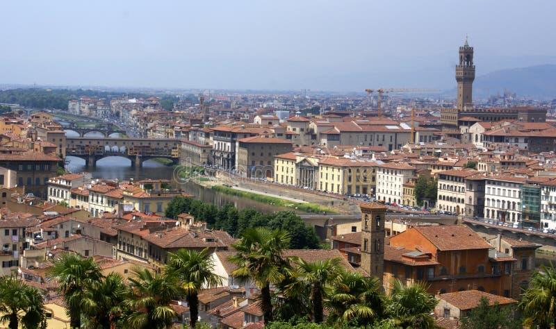佛罗伦萨全景视图 免版税库存照片