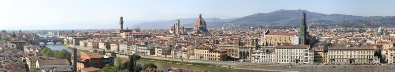 佛罗伦萨全景 库存图片