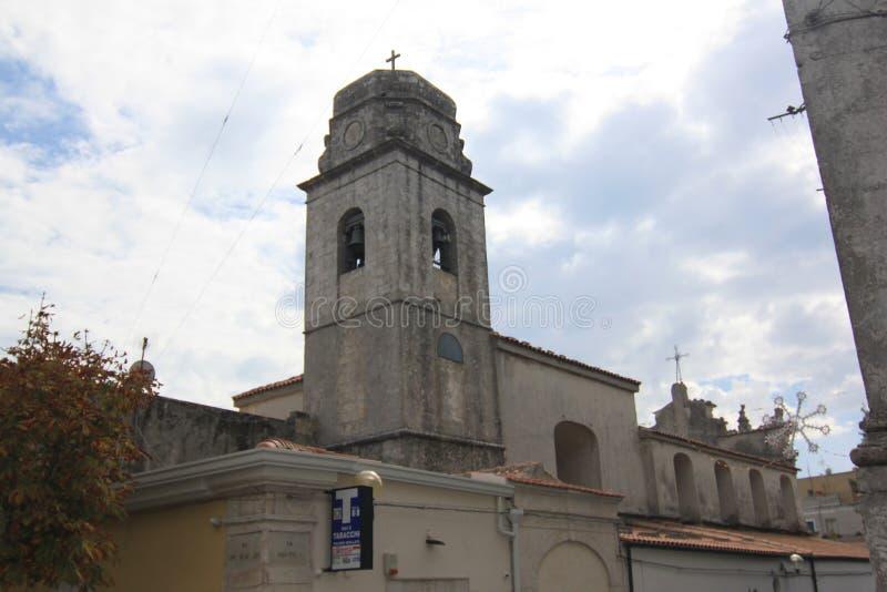 佛罗伦萨卡尔米内圣母大殿蒙泰圣安杰洛福贾意大利教会  库存照片