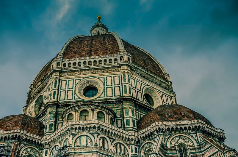 佛罗伦萨圣玛丽亚德尔菲奥雷主教座堂 免版税库存照片