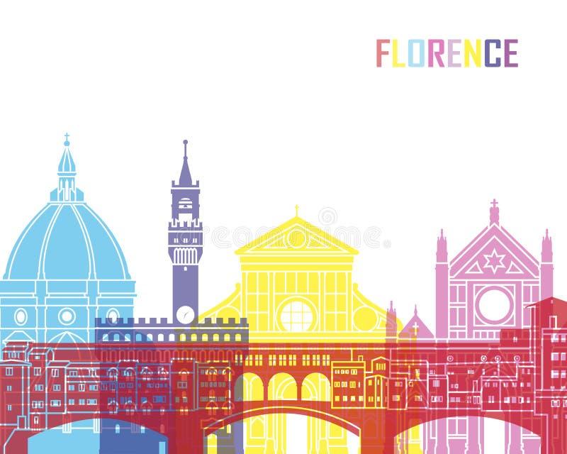佛罗伦萨地平线流行音乐 皇族释放例证