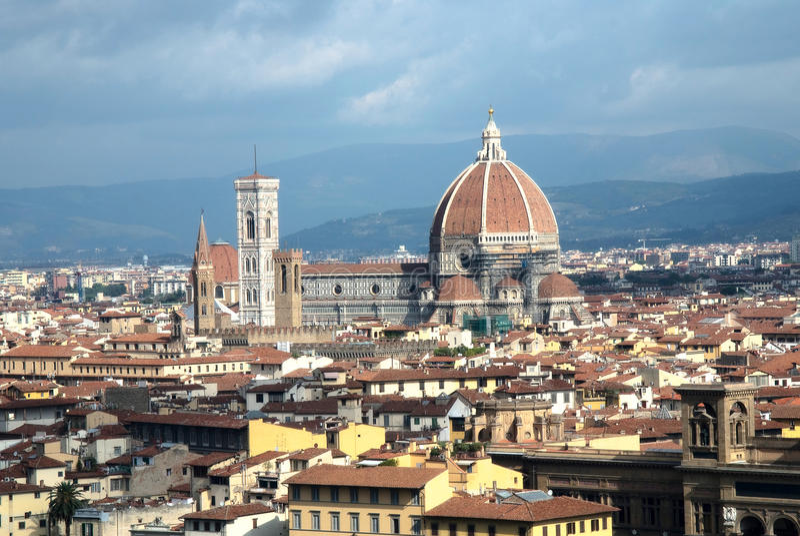佛罗伦萨地平线 免版税库存图片