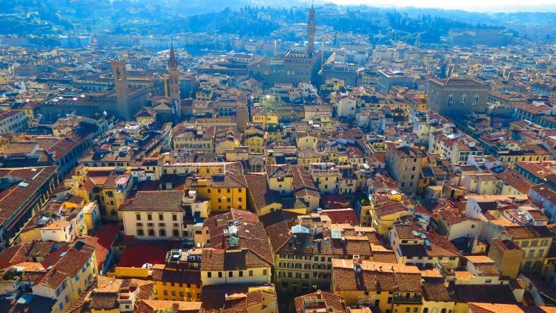 佛罗伦萨屋顶 库存图片