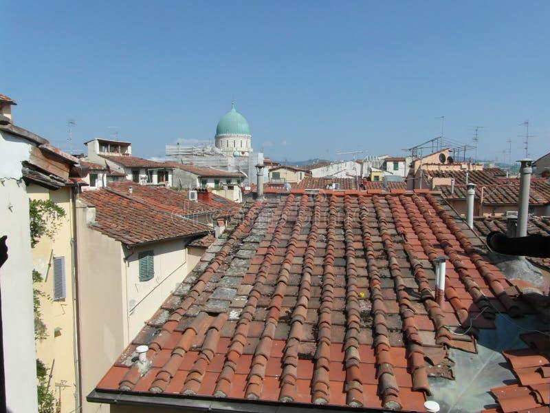 佛罗伦萨屋顶 图库摄影