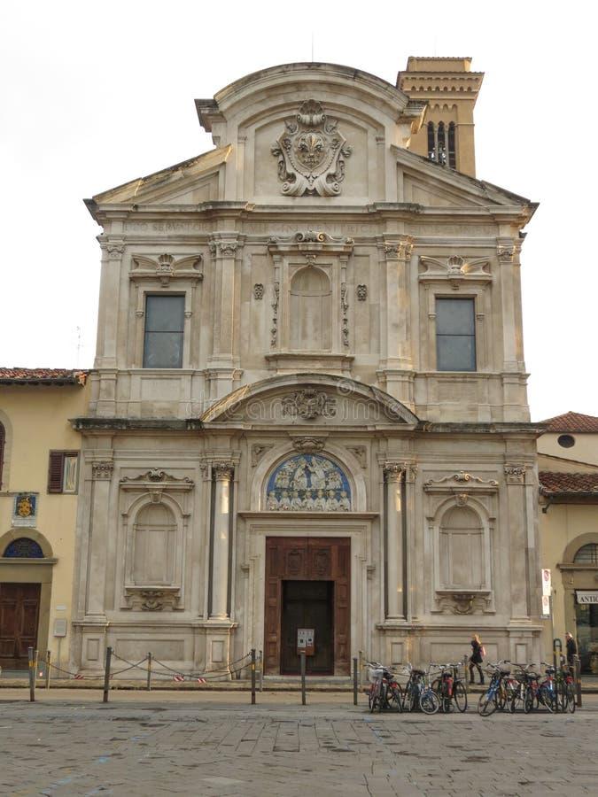 佛罗伦萨市中心 图库摄影
