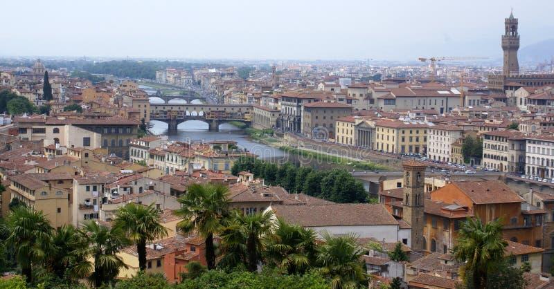 佛罗伦萨意大利全景视图 免版税库存照片