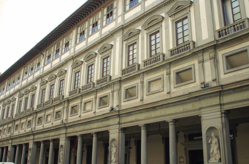 佛罗伦萨画廊意大利uffizi 免版税库存图片