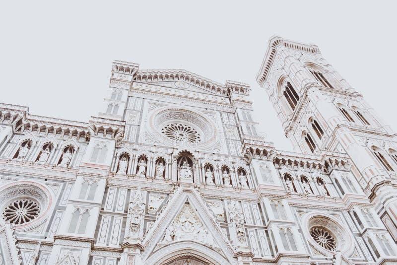 佛罗伦萨被粉刷的建筑学  库存图片