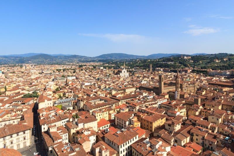 佛罗伦萨都市风景  库存照片