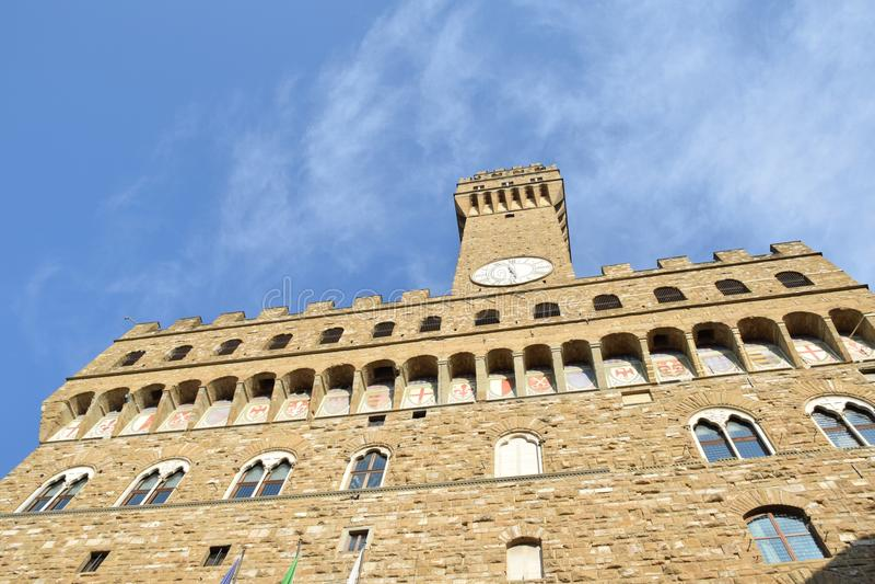 佛罗伦萨,广场della signoria 库存照片
