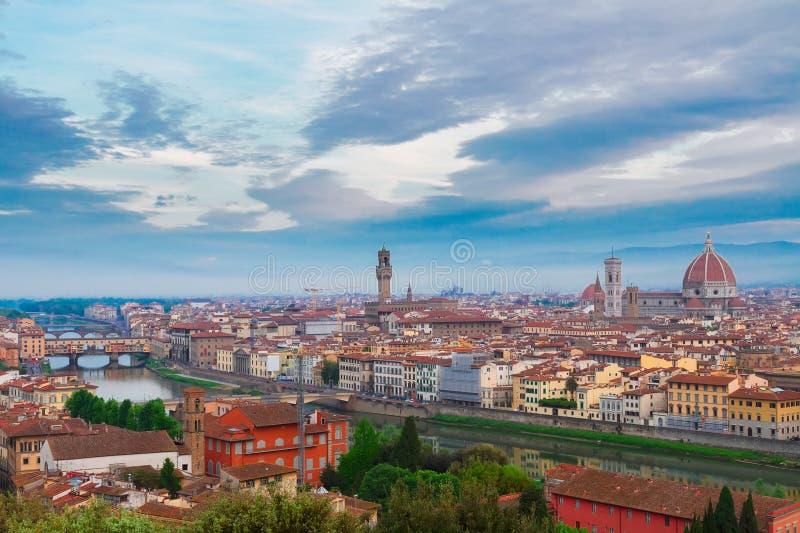 佛罗伦萨,意大利老镇  库存图片