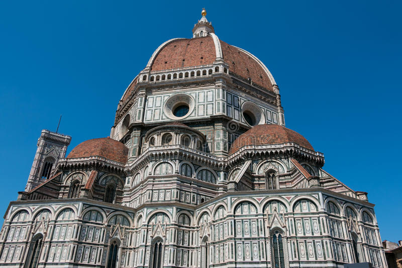 佛罗伦萨,托斯卡纳圆顶  库存照片