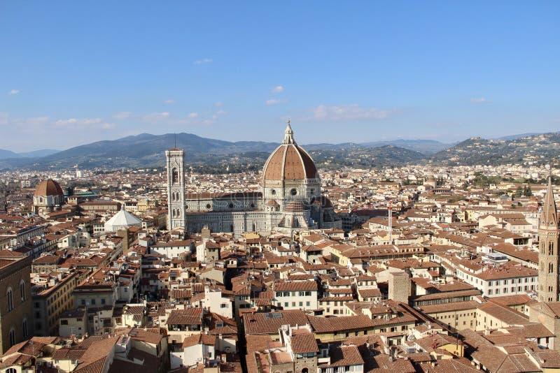 佛罗伦萨2019年,佛罗伦萨、历史和秀丽风景  库存照片