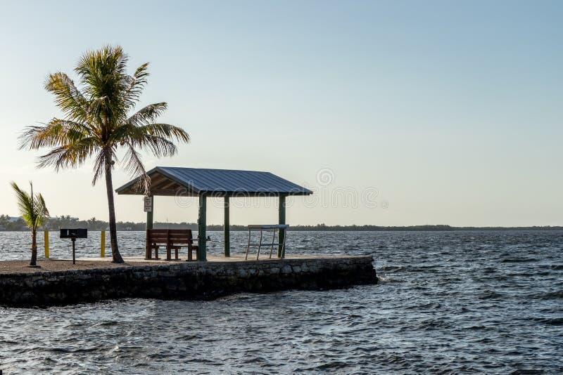 佛罗里达基拉戈码头 免版税库存图片