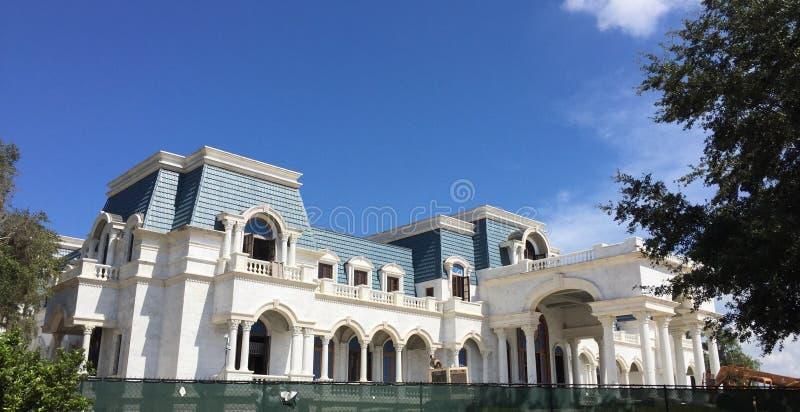 佛罗里达州温德米尔 — 2016年10月1日:大卫和杰基·西格尔的凡尔赛豪宅,美国最大的住宅 免版税库存照片