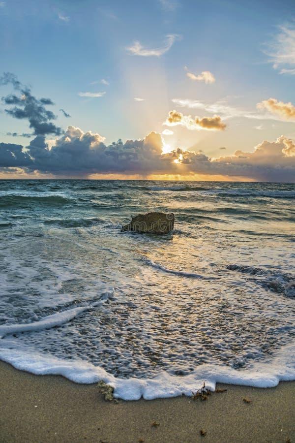 佛罗里达日出 免版税图库摄影