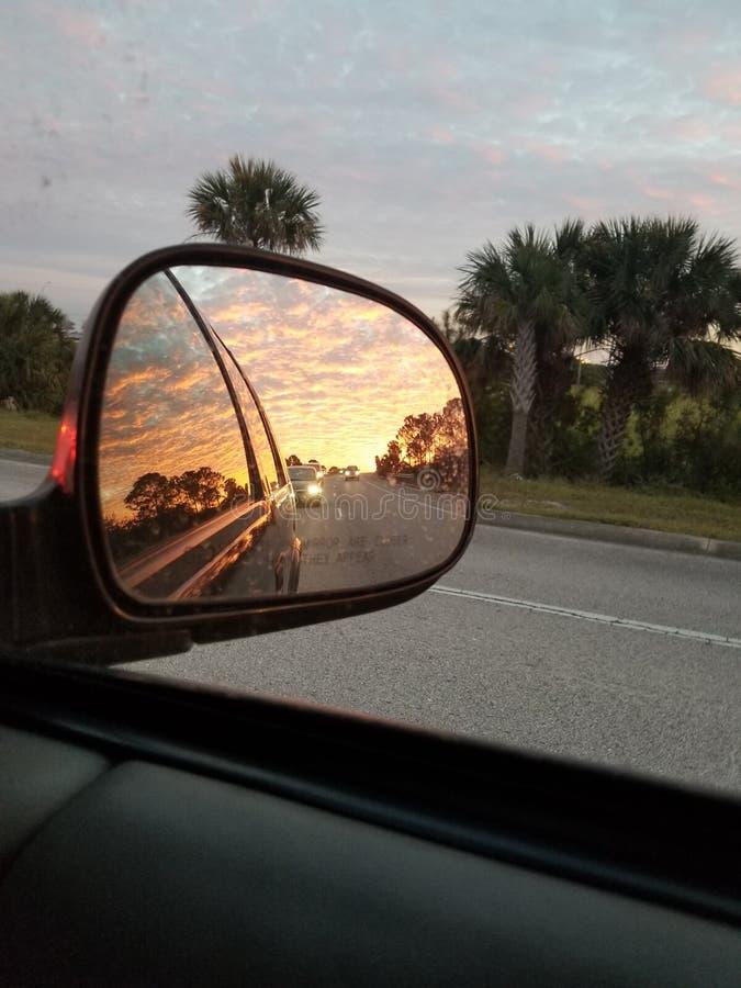 佛罗里达日落 免版税图库摄影