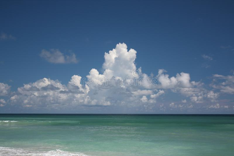 佛罗里达海景 图库摄影