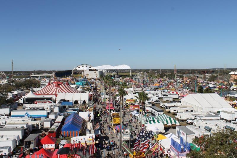 佛罗里达状态集市场所 图库摄影